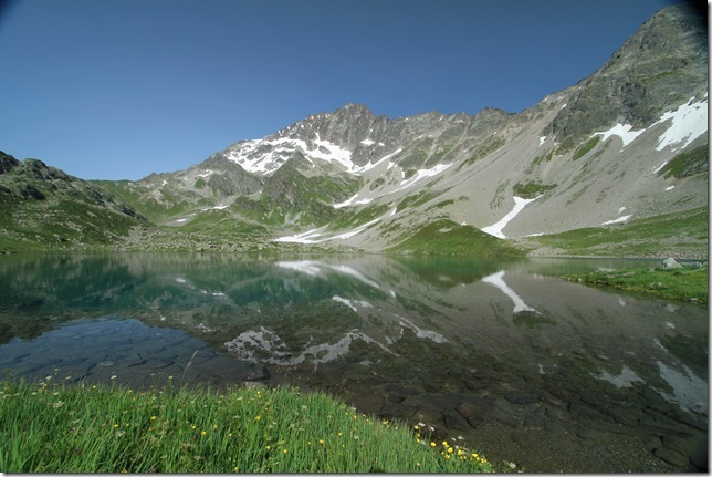 Le lac Jovet (Photo : R. Venet)