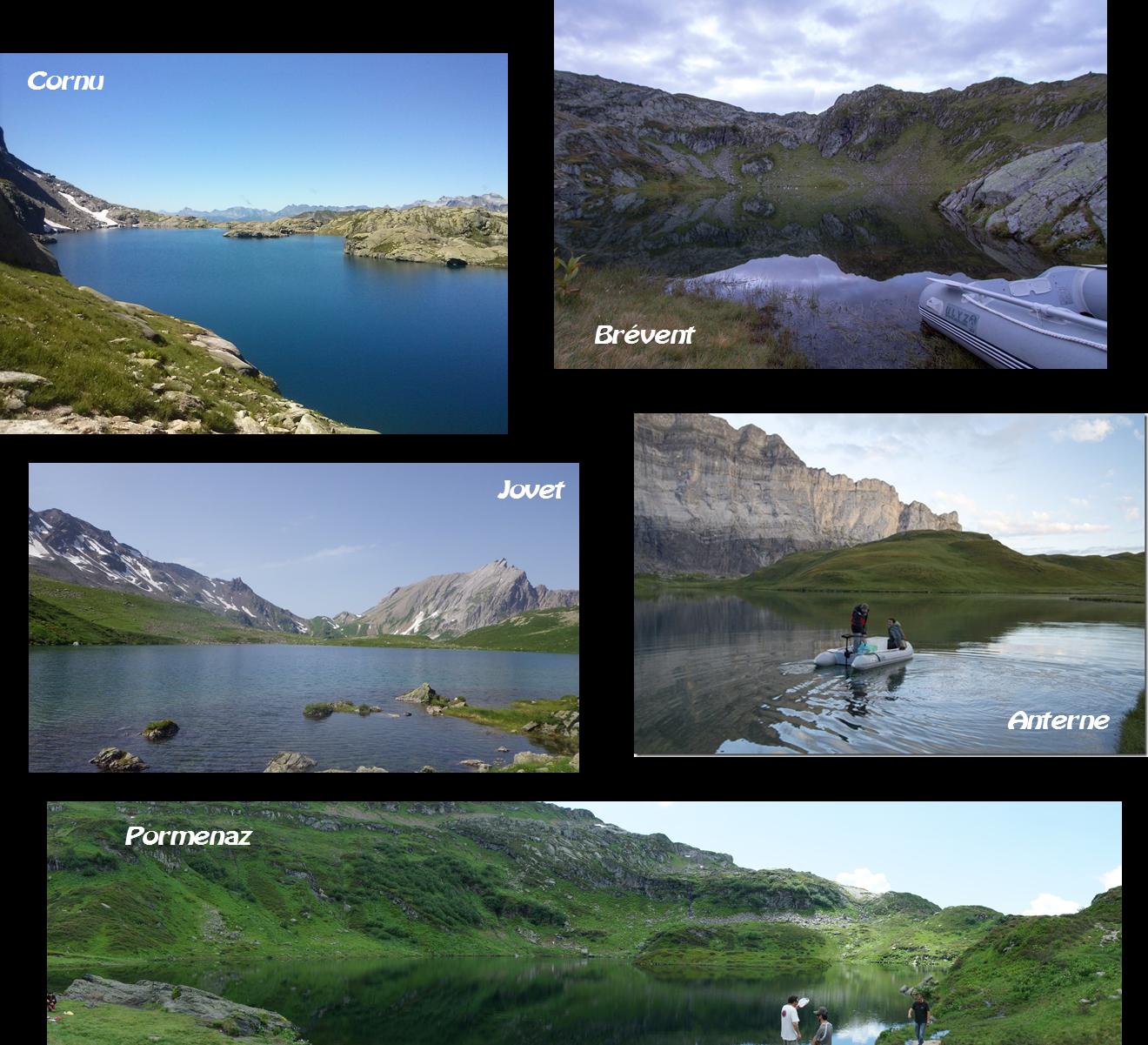Lacs montagne