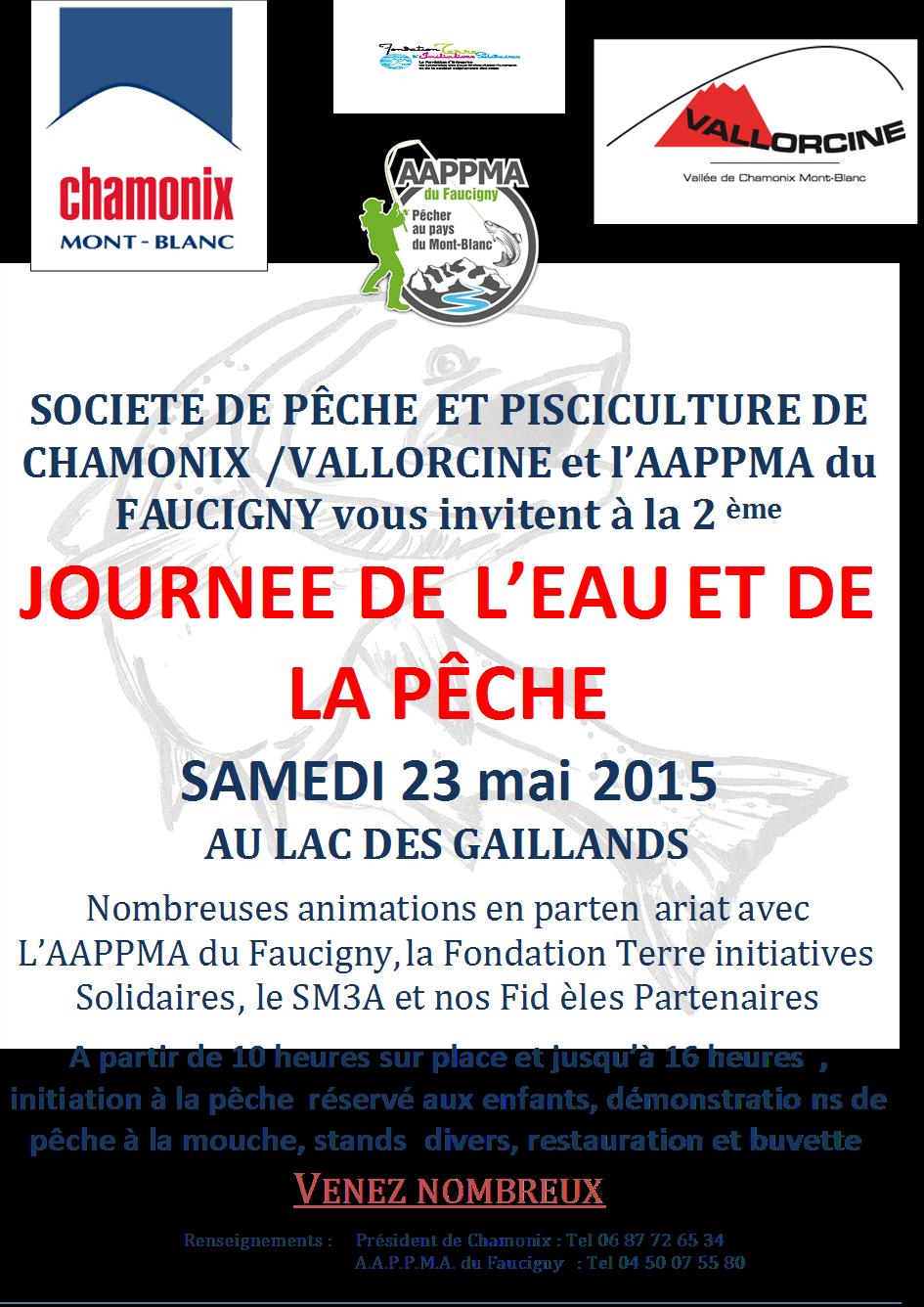 Affiche journée de l'eau  2015 Chamonix_23.05.15